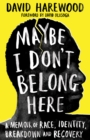 Image for Maybe I don't belong here  : a memoir of race, identity, breakdown and recovery