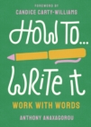 Image for How to write it