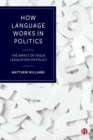 Image for How language works in politics  : the impact of vague legislation on policy