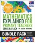 Image for Haylock: Mathematics Explained for Primary Teachers (Australian edition) + Student Workbook bundle