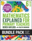 Image for Haylock: Mathematics Explained for Primary Teachers 6e + Student Workbook bundle