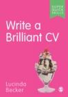 Image for Write a brilliant CV