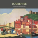 Image for Yorkshire Poster Art National Railway Museum Square Wiro Wall Calendar 2022