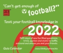 Image for Can't Get Enough of Football Box Calendar 2022