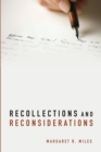 Image for Recollections and Reconsiderations