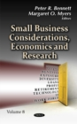 Image for Small Business Considerations, Economics & Research : Volume 8