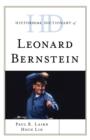 Image for Historical Dictionary of Leonard Bernstein