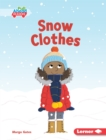 Image for Snow Clothes