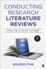Image for Conducting research literature reviews  : from the Internet to paper