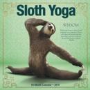 Image for Sloth Yoga 2019 Wall Calendar