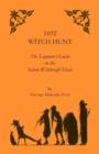 Image for 1692 Witch Hunt : The Layman's Guide to the Salem Witchcraft Trials