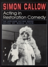 Image for Acting in Restoration Comedy