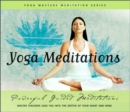 Image for Yoga Masters Meditations