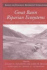 Image for Great Basin riparian ecosystems  : ecology, management, and restoration