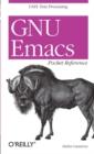 Image for GNU Emacs pocket reference