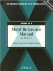 Image for Motif Reference Manual; Vol.6B : For Motif 2.1