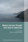 Image for Modern German thought from Kant to Habermas