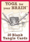 Image for Yoga for Your Brain - 20 Blank Tangle Cards