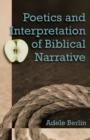 Image for Poetics and interpretation of biblical narrative