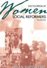 Image for Encyclopedia of women social reformers