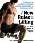 Image for The new rules of lifting  : six basic moves for maximum muscle