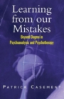 Image for Learning from our mistakes  : beyond dogma in psychoanalysis and psychotherapy