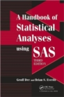 Image for A handbook of statistical analyses using SAS