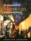 Image for Introduction to Moroccan  : Arabic and culture