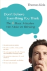 Image for Don't Believe Everything You Think