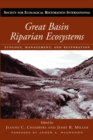 Image for Great Basin riparian ecosystems: ecology, management, and restoration