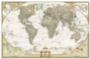 Image for World Executive, Poster Size, Tubed : Wall Maps World