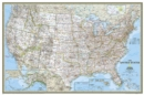 Image for United States Classic, Poster Size, Tubed : Wall Maps U.S.