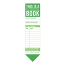 Image for Knock Knock This is a Book Bookmark Pad