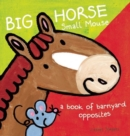Image for Big horse small mouse  : a book of barnyard opposites