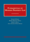 Image for Fundamentals of Modern Property Law