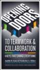 Image for Opening doors to teamwork and collaboration  : 4 keys that change everything