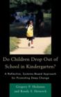 Image for Do Children Drop Out of School in Kindergarten?