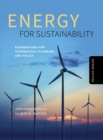 Image for Energy for sustainability  : technology, planning, policy