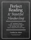 Image for Perfect Reading, Beautiful Handwriting