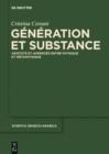 Image for Generation et Substance: Aristote et Averroes entre physique et metaphysique : 18