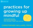 Image for Practices for growing up mindful  : guided meditations and simple exercises for children, teens, and families