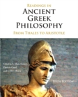 Image for Readings in Ancient Greek Philosophy : from Thales to Aristotle