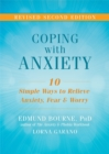 Image for Coping with anxiety  : ten simple ways to relieve anxiety, fear and worry