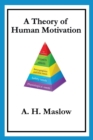Image for A theory of human motivation