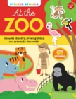 Image for Sticker Stories: At the Zoo : Includes stickers, drawing steps, and scenes to decorate! Over 150 Stickers