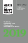 Image for HBR's 10 Must Reads 2019 : The Definitive Management Ideas of the Year from Harvard Business Review
