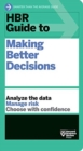 Image for HBR guide to making better decisions