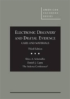 Image for Electronic Discovery and Digital Evidence, Cases and Materials