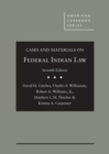 Image for Cases and materials on Federal Indian Law