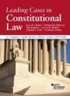 Image for Leading cases in constitutional law  : a compact casebook for a short course, 2016